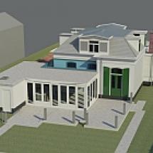 Restauratie en Uitbouw Villa Voorburg (2)