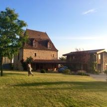 Transformatie boerderij landhuis Dordogne Frankrijk