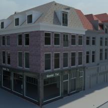 Transformatie winkelpand Den Haag (2)