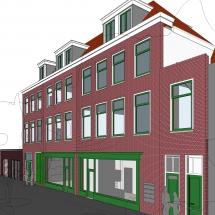 Wonen boven winkels Centrum Den Haag